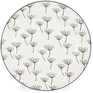 "Around the Table Wish 9"" Accent Plate by Lenox - HD Furniture"