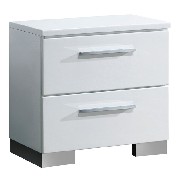 Bruce Contemporary Nightstand - HD Furniture