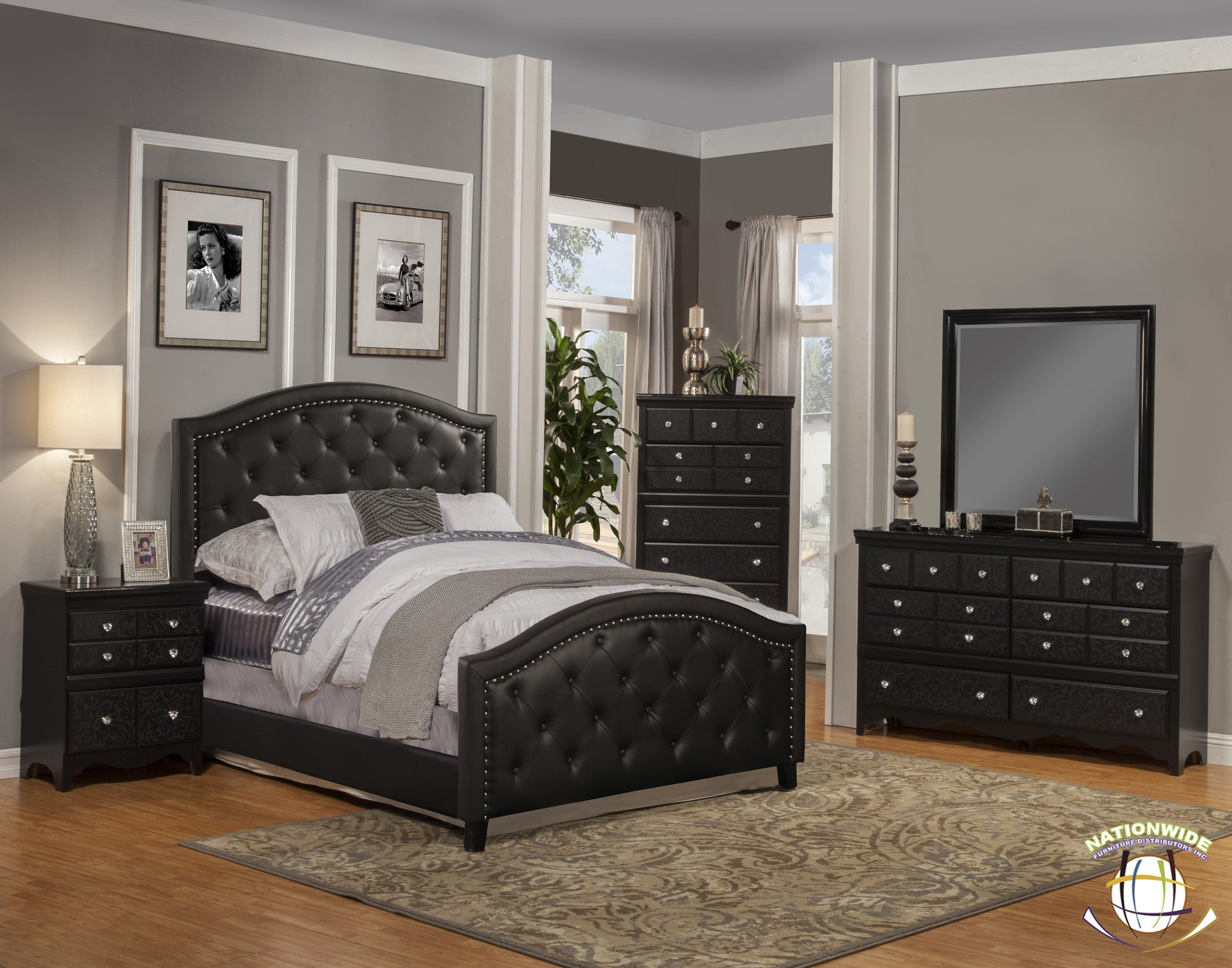 Andre Collection Bed by HD Furniture - HD Furniture