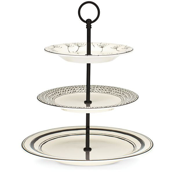 "Around the Table 13.5"" 3-tiered Server by Lenox - HD Furniture"