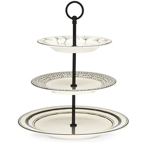 "Around the Table 13.5"" 3-tiered Server by Lenox"