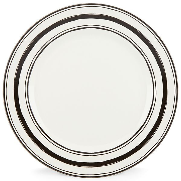 "Around the Table Stripe 11"" Dinner Plate by Lenox - HD Furniture"