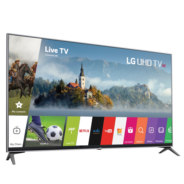 LG Electronics UJ7700 65UJ7700 65-Inch 4K Ultra HD Smart LED TV - TruMotion 120Hz - Active HDR with Dolby Vision™