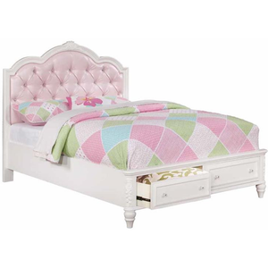 Caroline Collection Full Storage Bed by Coaster
