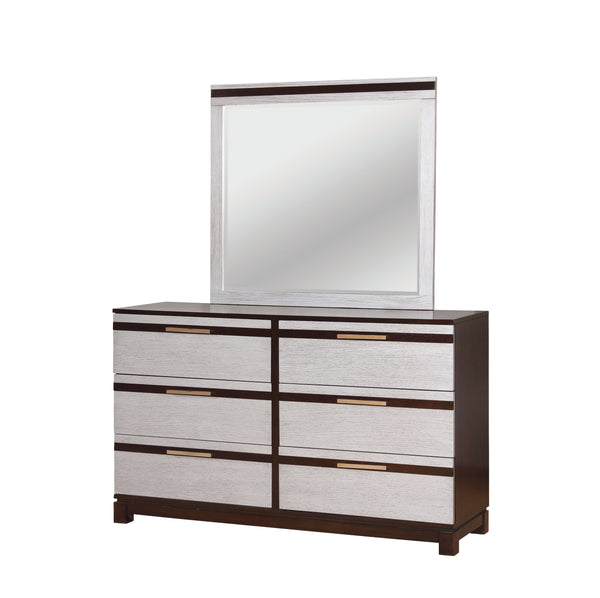 Cartier Contemporary Style Silver Mirror - HD Furniture