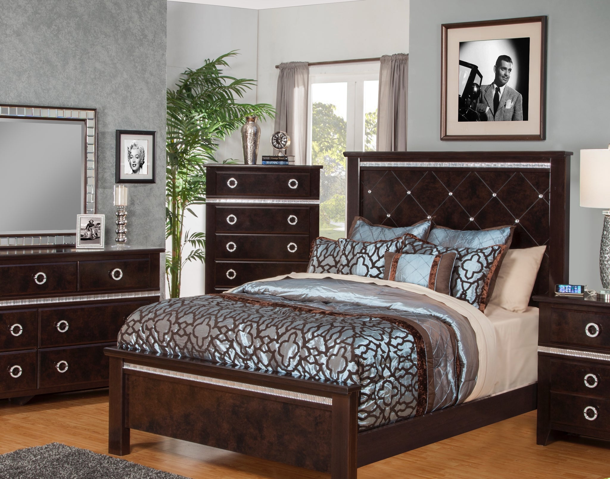 Carson 3pc Bedroom Set - HD Furniture