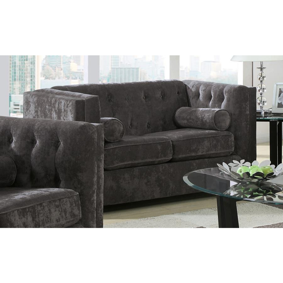 Alexis Collection Loveseat by Coaster - HD Furniture