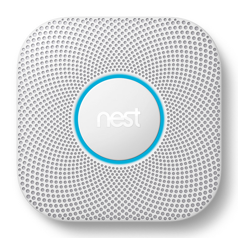 Nest Labs PRO-2ND GEN S3004PWBUS BatteryPowered- Smoke and Carbon Monoxide Detector w/Smart Phone Integration- WHITE