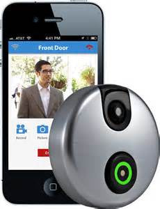 Alarm.com SKYBELLADC-VDB101 SKYBELL Wifi Doorbell Camera (Satin Nickel)