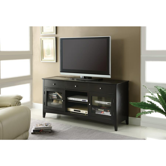 Cappuccino TV Stand by Coaster - HD Furniture