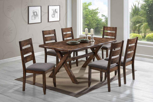 Alston Collection Dining Table by Coaster - HD Furniture