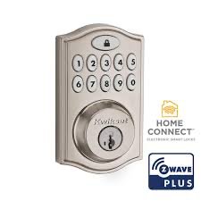 Kwikset 99140-023 SmartCode 914 Z-Wave 500 Deadbolt Satin Nickel
