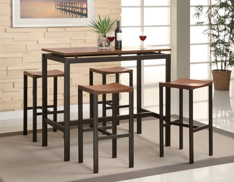 5-Piece Counter Height Table by Coaster