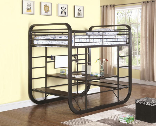 Full Workstation Bunkbed by Coaster