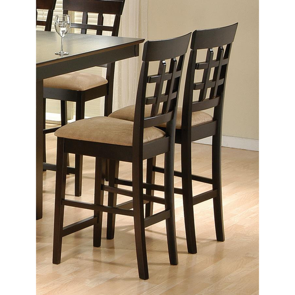 Counter Height Chairs by Coaster (pack of 2) - HD Furniture