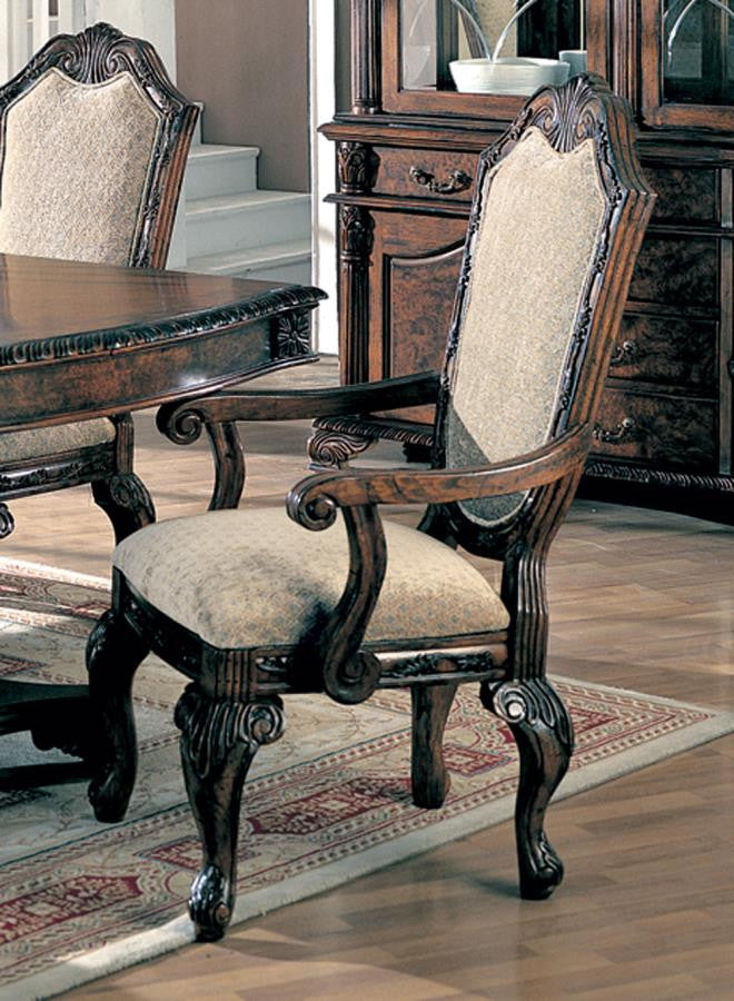 Saint Charles Collection Arm Chair (pack of 2) by Coaster