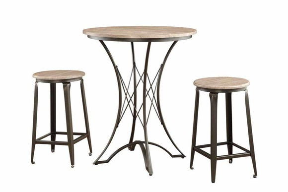 3-Piece Counter Height Table by Coaster - HD Furniture