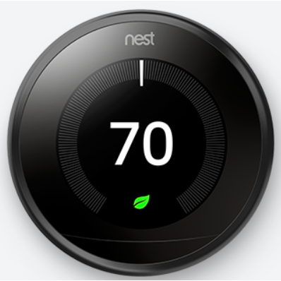 Nest Labs 3rd Gen T3016US Learning Thermostat Pro-BLACK
