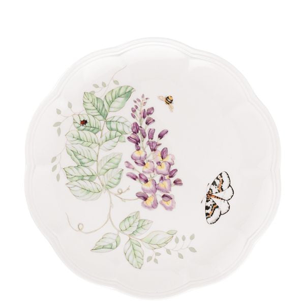 Butterfly Meadow® Blue Butterfly 9 Accent Plate by Lenox - HD Furniture