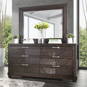 Palita Transitional Dresser and Mirror