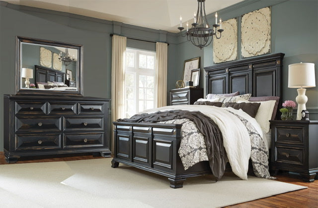 Marilyn Collection 3pc( bed, dresser, mirror)