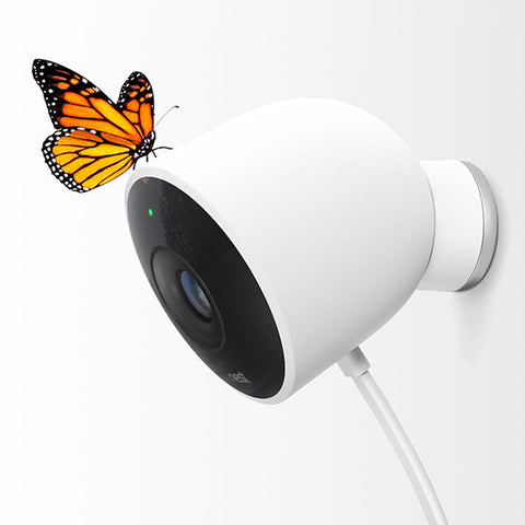 Nest Cam Outdoor Camera-WHITE