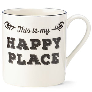 Around the Table This Is My Happy Place Mug by Lenox - HD Furniture