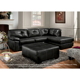 Bonded Leather Sectional by HD Furniture - HD Furniture