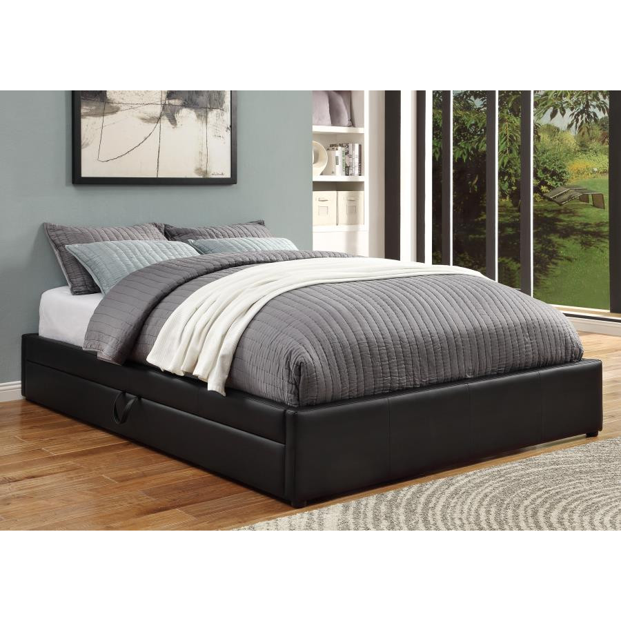Hunter Storage Upholstered Bed by Coaster