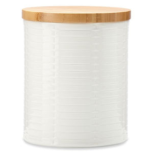 Entertain 365 Sculpture Wide Canister by Lenox