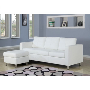 ACME Kemen Sectional Sofa - 15068 - White PU