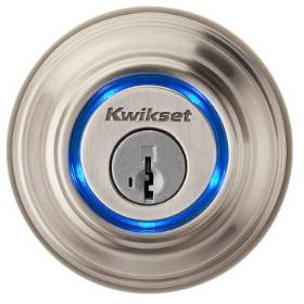 Kwikset 99250-002 Kevo Bluetooth Electronic Lock-Satin Nickle