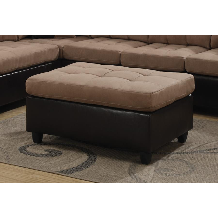 Mallory Collection Ottoman by Coaster