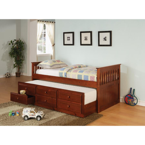 La Salle Twin Captain's Bed with Trundle