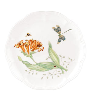 "Butterfly Meadow® Dragonfly 9"" Accent Plate by Lenox"