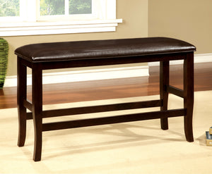 Donnelly Transitional Counter Height Bench