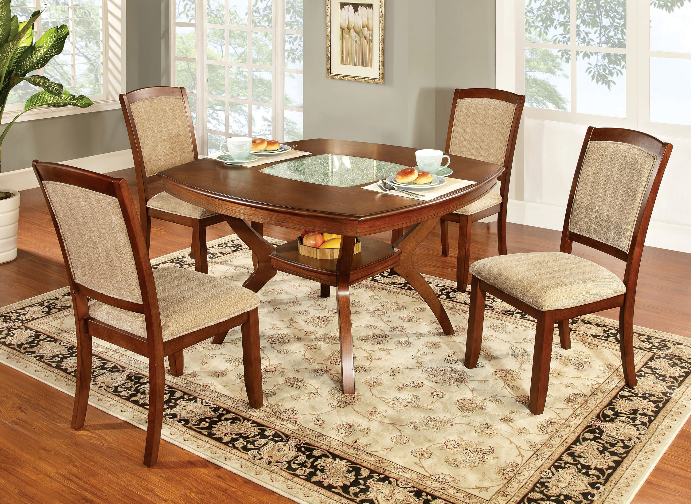 Crumble Transitional  Dining Table