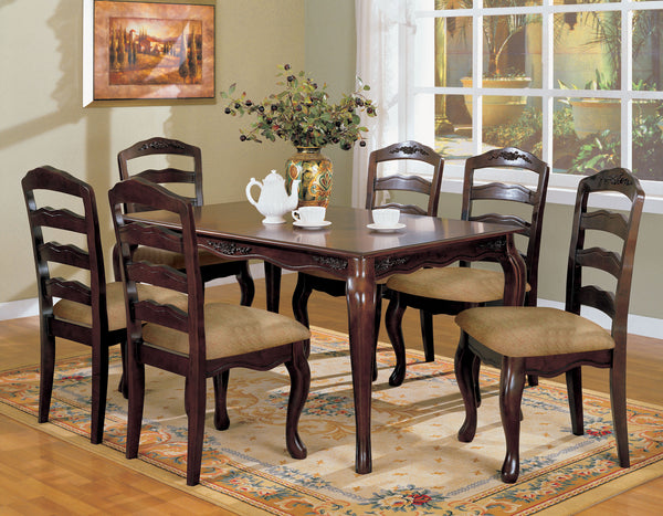 Yancy Traditional 78-inch Dining Table