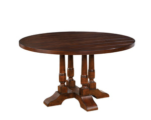 Melba Transitional Round Dining Table