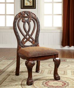 Rembrah Traditional Side Chair, Cherry