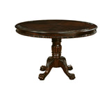 Edith Transitional Round Dining Table