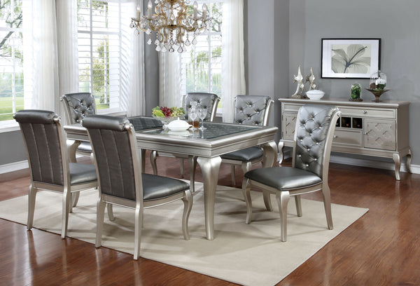 Elizza Contemporary 66-inch Dining Table