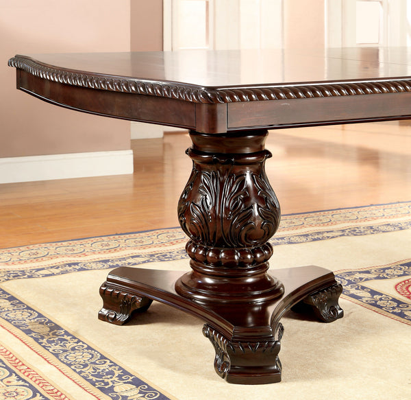 Majestry Traditional Formal Rectangular Dining Table