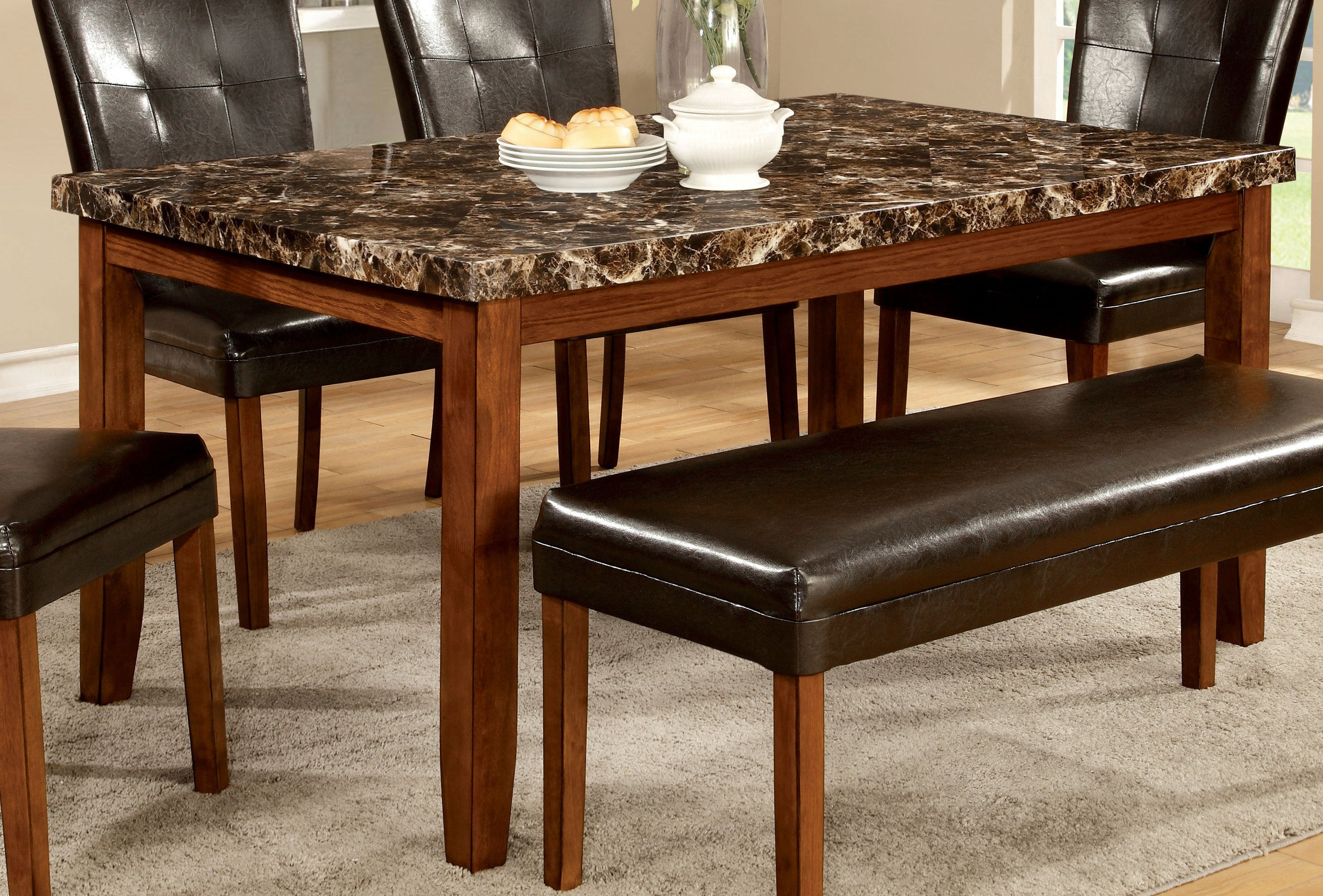 Berta Contemporary Dining Table