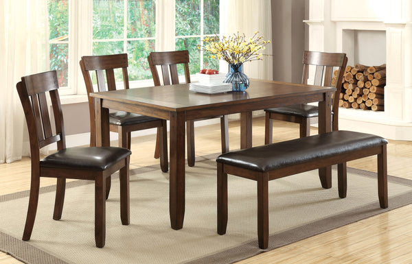 Bolivia Transitional Dining Table - HD Furniture