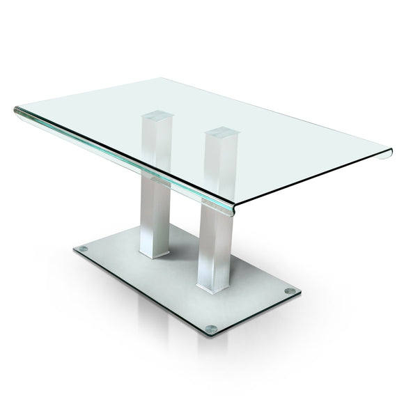 Alyssa Contemporary Dining Table - HD Furniture