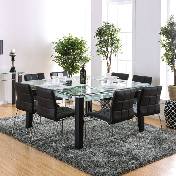 Alyna Contemporary Dining Table - HD Furniture