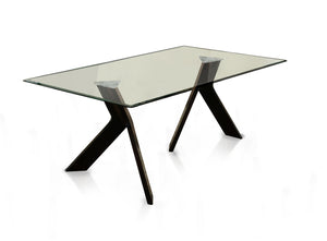 Ainsley Contemporary Dining Table - HD Furniture