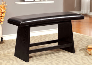 Collin Contemporary Counter Height Bench - HD Furniture