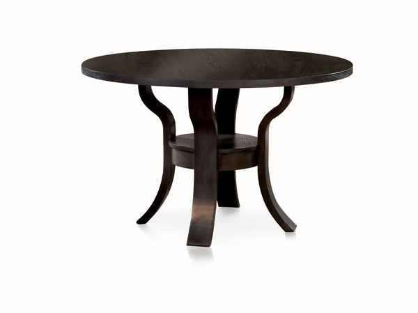 Diandra Transitional Round Dining Table